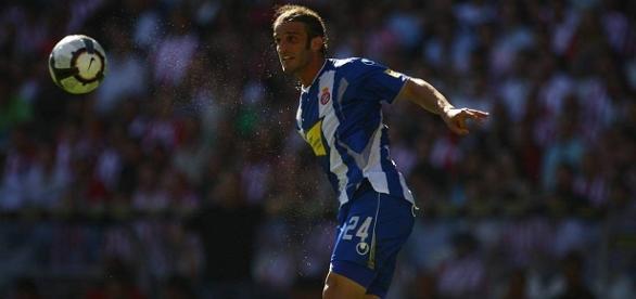 Alonso jugó en el Espanyol de Barcelona