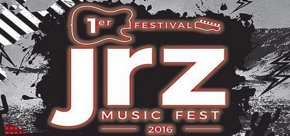 Cartel del Primer Jrz Music Fest 2016