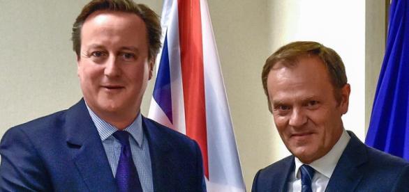 David Cameron și Tusk un duo al austerității