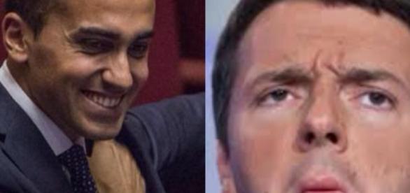 Di Maio e Renzi dei rispettivi partiti politici