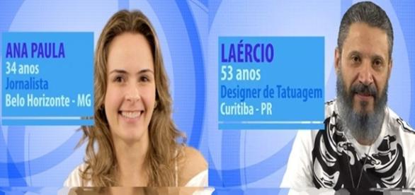 Entre Laércio e Ana Paula. Quem sai?