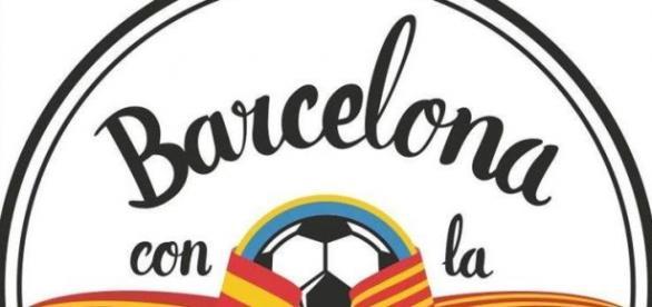 Eslógan del Movimiento Barcelona con la Selección