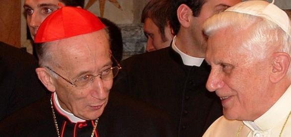 L'ex presidente della Cei, Camillo Ruini