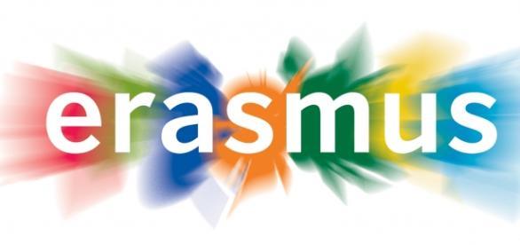 Logo del programa europeo Erasmus.