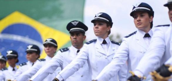 Profissionais do Curso de Formação de Sargentos
