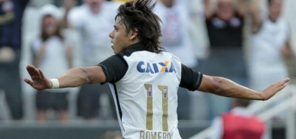 Romero marcou o gol do triunfo alvinegro