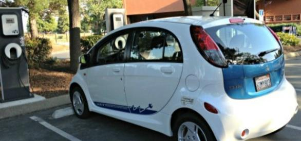 The Mitsubishi i-MiEV is low-priced, fuel thrifty.