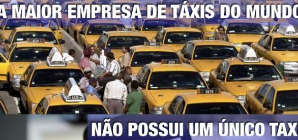 Uber, uma nova maneira de movimentar-se.