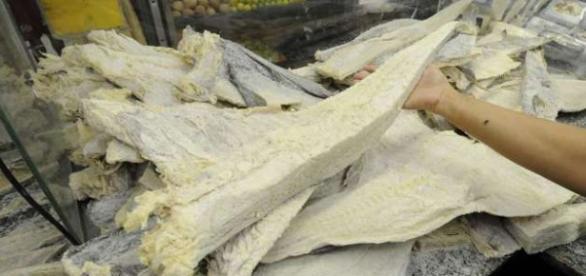 Bacalhau esta 40% mais caro este ano.