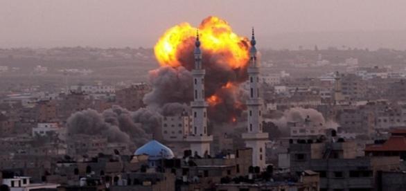Bobardeo de aviacion rusa en Siria