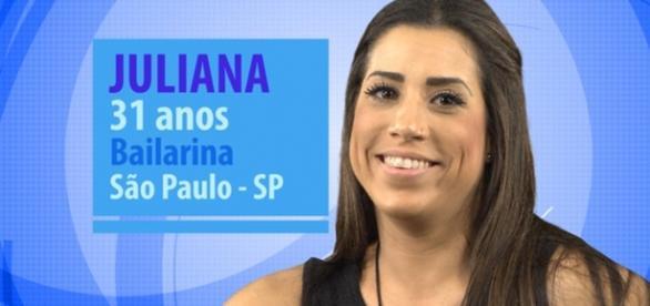 Julliana critica Monica Iozzi. Foto: divulgação.