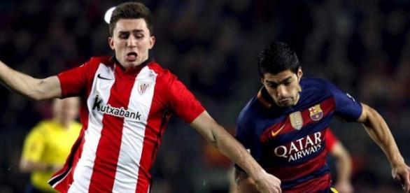 Laporte, zagueiro do Athletic Bilbao