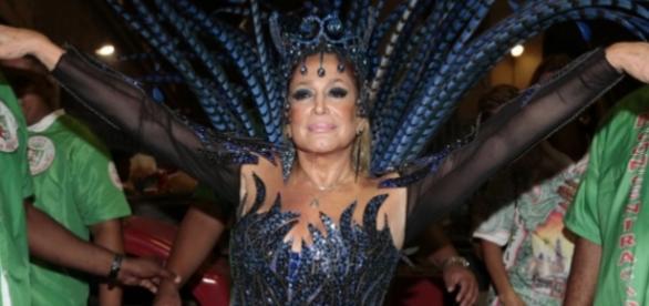 Susana Vieira no Carnaval - Imagem da internet