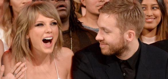 Calvin e Harris estão super apaixonados