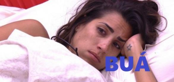 Juliana fica chateada com o BBB