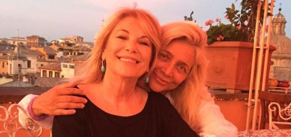 Rita Dalla Chiesa con Mara Venier (Fonte FB)
