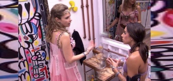 Clima fica tenso entre Ana Paula e Juliana no BBB