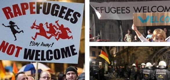 Germania între proziţiile PRO şi ANTI imigraţie