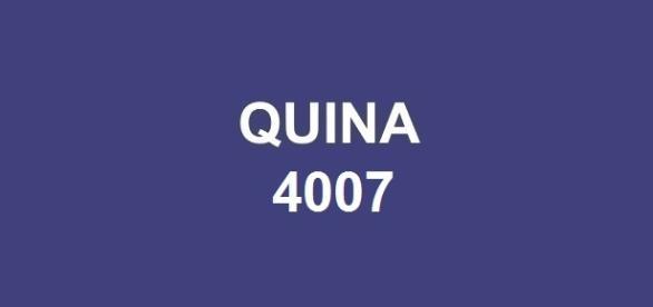 Milhares de apostas foram premiadas na Quina 4007