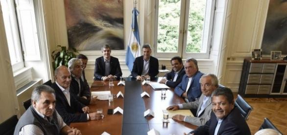 Se reunieron los gremios peronistas con Macri