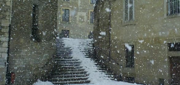 Avisos por nieve para los próximos días