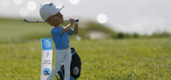 Jordan Spieth's bobblehead made for golf's No. 1.