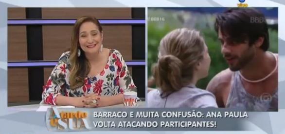 Sônia Abrão critica Ana Paula - Foto/Reprodução