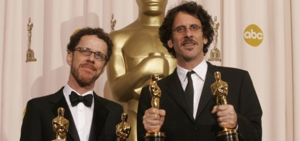 The Coen Brothers Oscar Win Photo