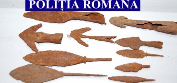 Vârfuri de săgeţi de epocă medievală