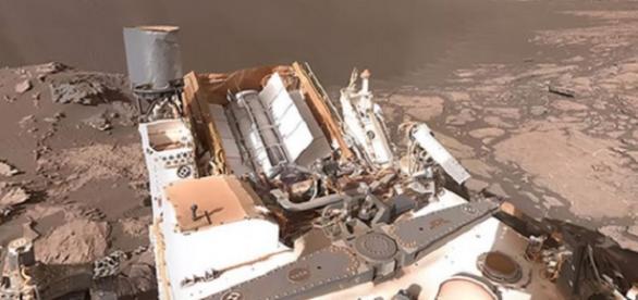36-degree Mars video (NASA Twitter)