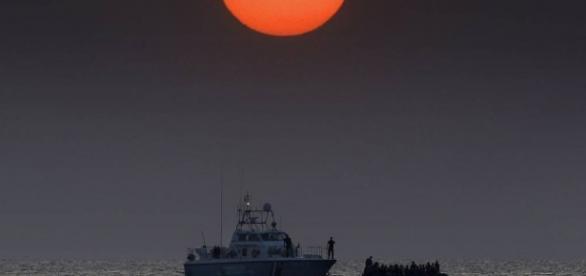 Barco da Guarda Costeira Grega