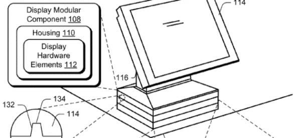 Bocetos sobre el futurible PC modular de Microsoft