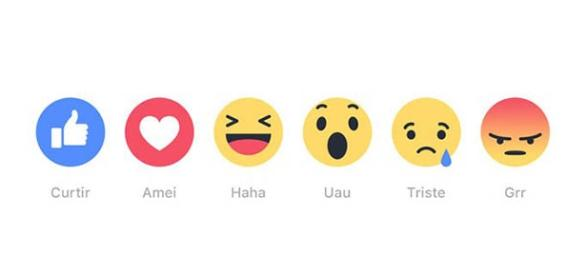 Botões ampliam reações de usuários