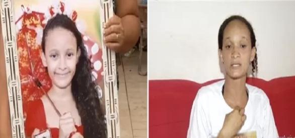 Laura Vitória de 9 anos - Reprodução/TV Anhanguera