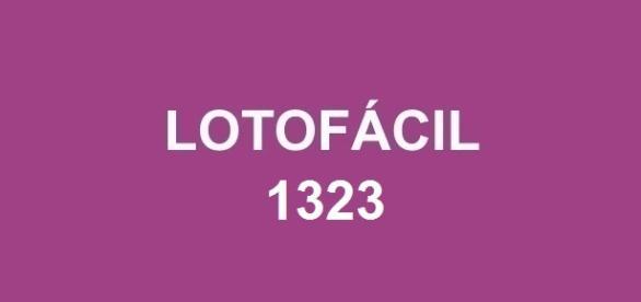 Lotofácil 1323 sorteou R$ 1,5 milhão nessa segunda