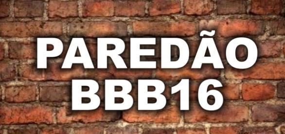 Novo paredão é formado no BBB16