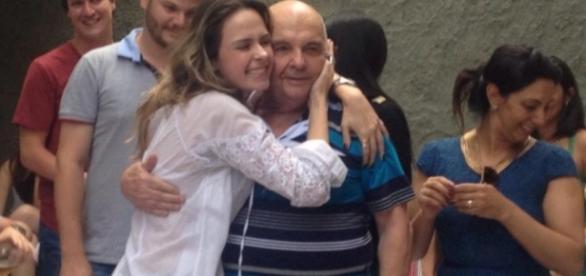 Pai de Ana Paula está preocupado com a sister