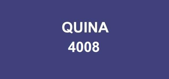 Prêmio de R$ 500 mil foi sorteado na Quina 4008