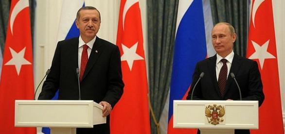 Țarul Putin și Sultanul Erdogan pericol mondial