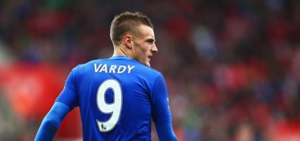 Vardy, una de las estrellas de este Leicester