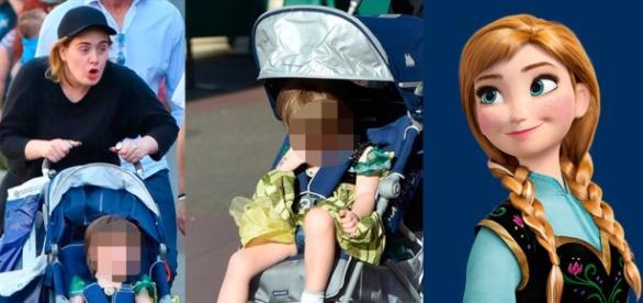Cantora causou na Disney com filho