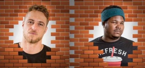 Daniel e Renan estão no paredão - Foto/Montagem