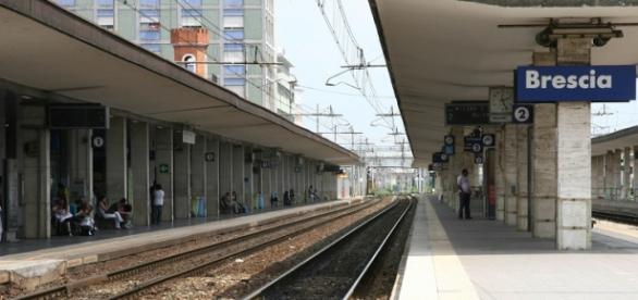 La stazione di Brescia, ora servita anche da Italo