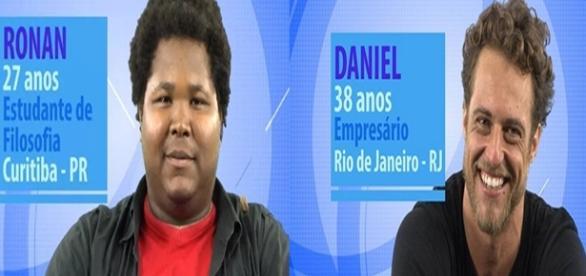 Quem vai sair do BBB16? Ronan ou Daniel?