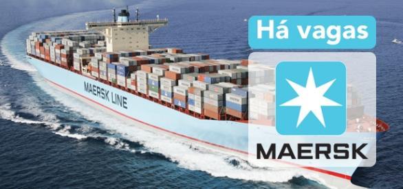 Vagas na Maersk. Foto: Arabiansupplychain.