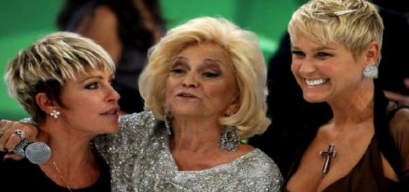 Ana Maria Braga, Hebe Camargo e Xuxa