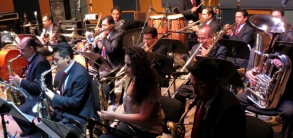 Big Band Jazz de México en Horizonte.