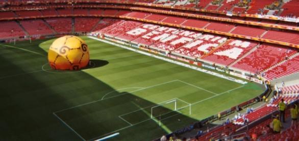 Estádio da Luz vai ser palco do jogo.