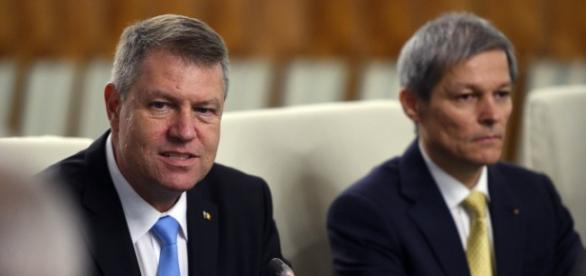 Iohannis și Cioloș doi mari interesați