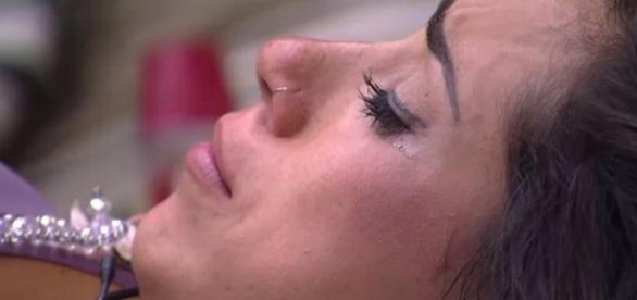 Juliana chora no BBB - Foto/Reprodução